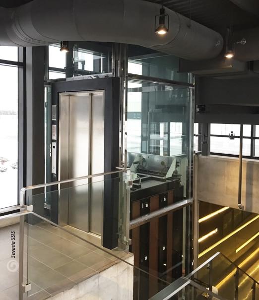 Savaria Stainless Steel Doors