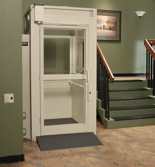 Bruno Commercial Vertical Platform Lift
