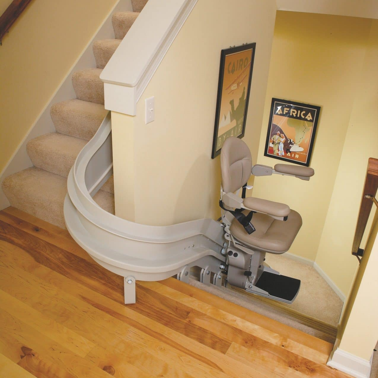 Bruno Elite Curve Indoor Stair Lifts