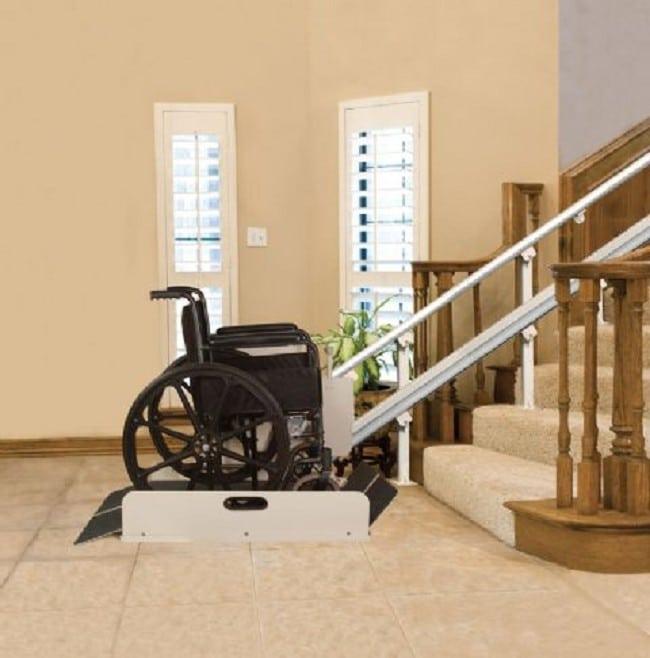 Sierra Inclined Stair Platform Lift